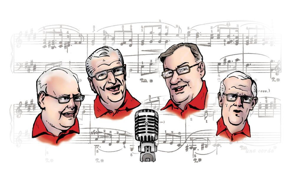 LAMAJANO Barbershop Quartet