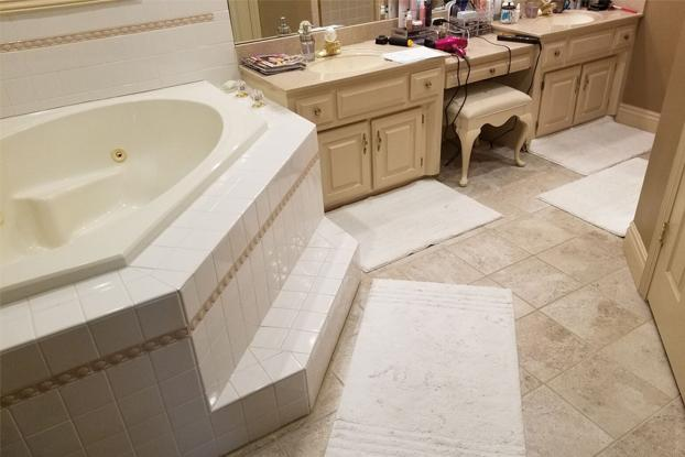 More of our bathroom renovations in Omaha include removing these outdated 1990's corner bathtubs than any other bathroom demolition projects! A ReBath bathroom remodel includes the benefit of a free design consult so that you can avoid updating to outdated.