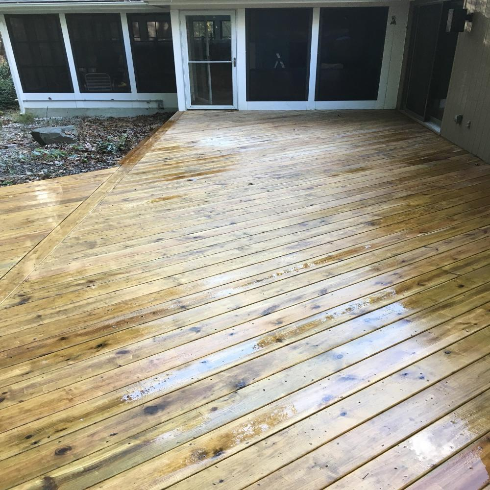 Deck Stain ~ Columbia, MD