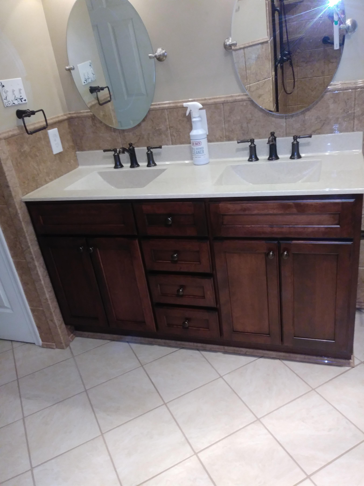 Vanity Remodel in Richmond, VA