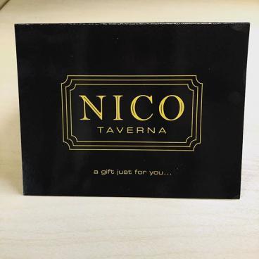 Nico Gift Certificate Holders