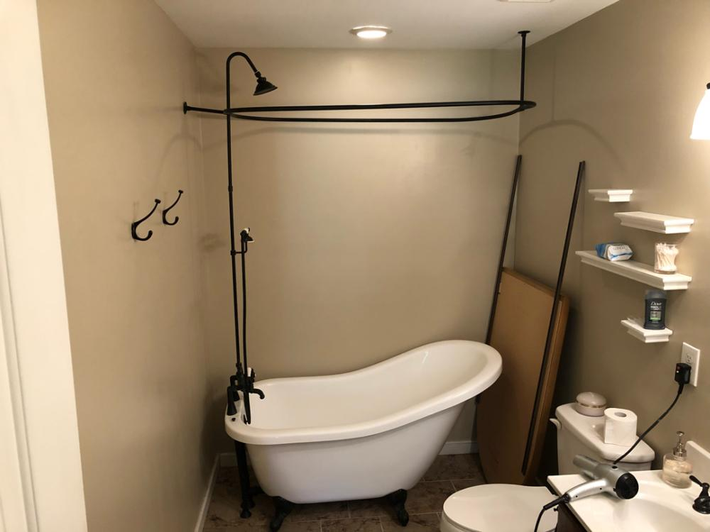 Needing a more accessible shower