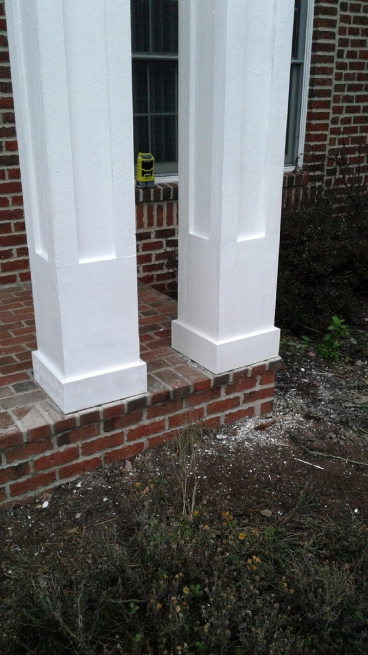 Repaired Pillars in Westerville