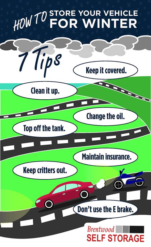 Winter Vehicle Storage Tips