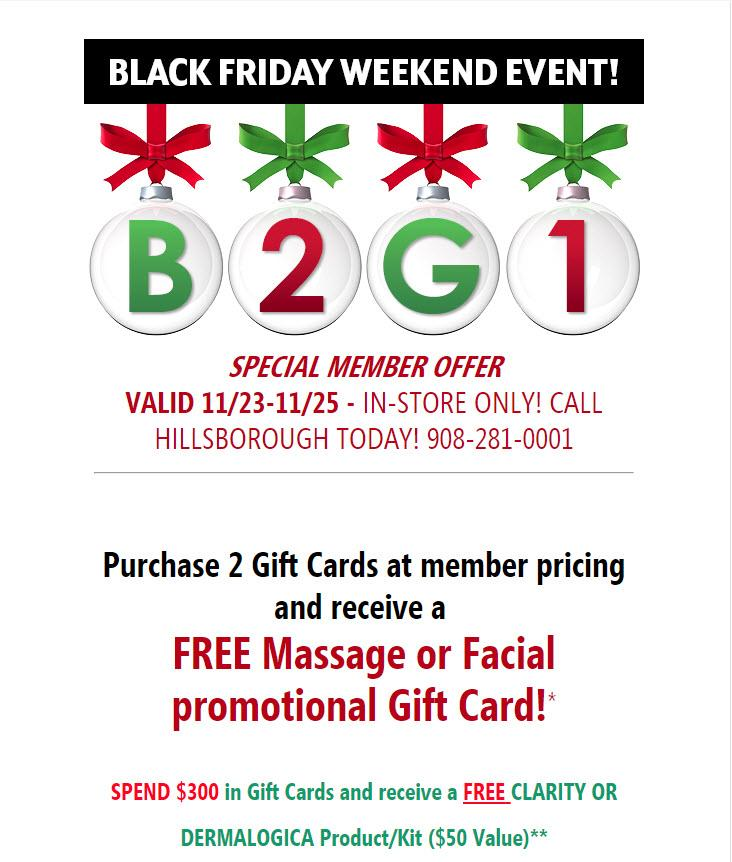 MEMBER EXCLUSIVE BLACK FRIDAY GIFT CARD SALE!