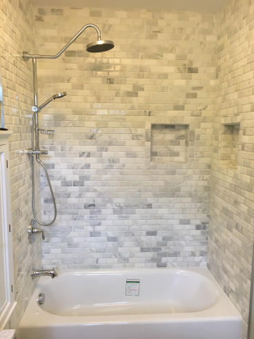Bathroom Remodel in Bexley- After