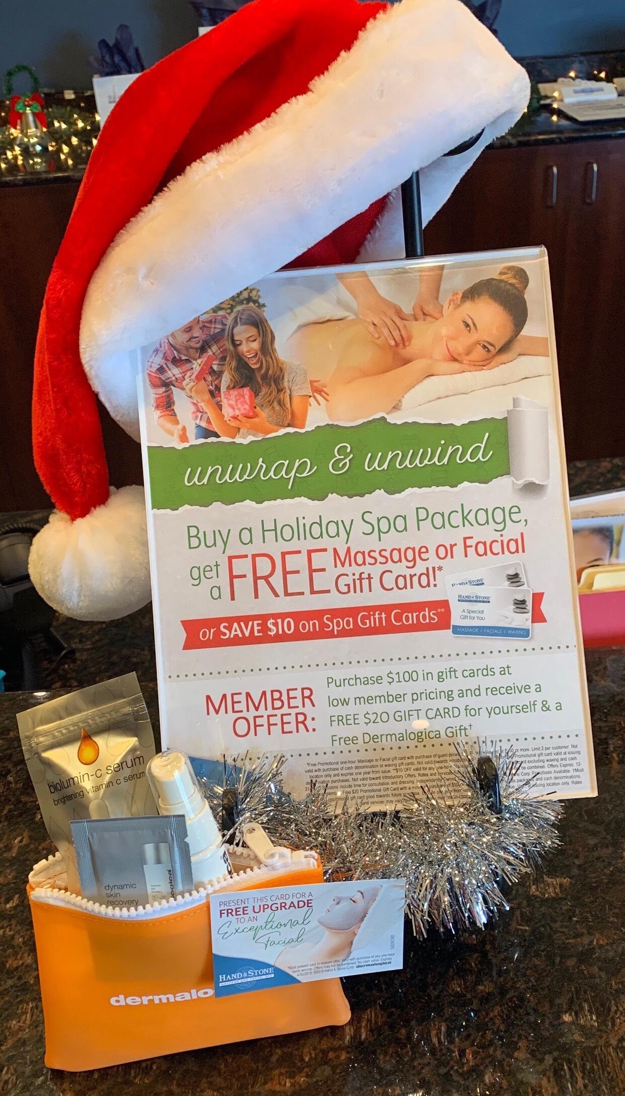 Unwrap & Unwind this Holiday Season!