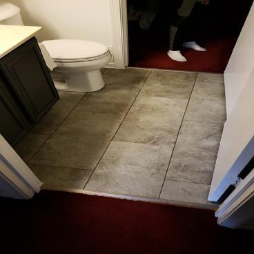 Bathroom Tile repair ~ Elkridge, MD