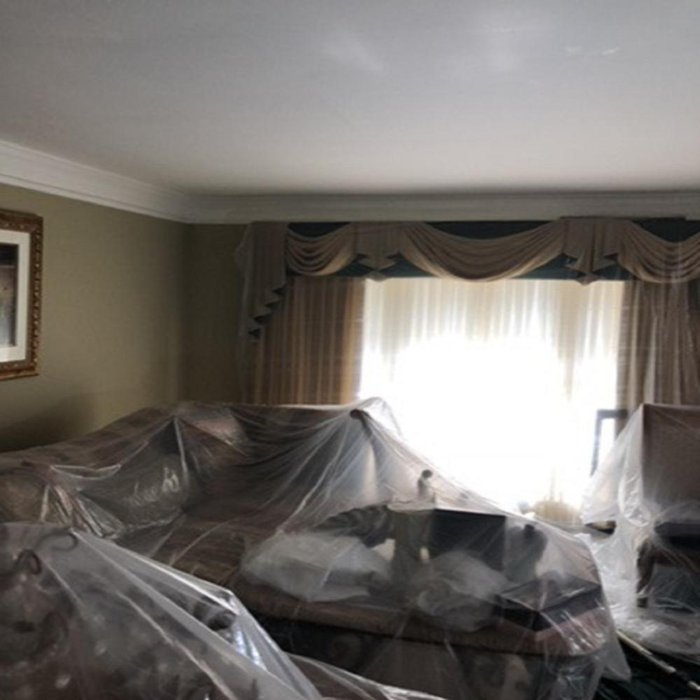 Light Fixture Removal and Drywall Repair ~ Pikesville, MD