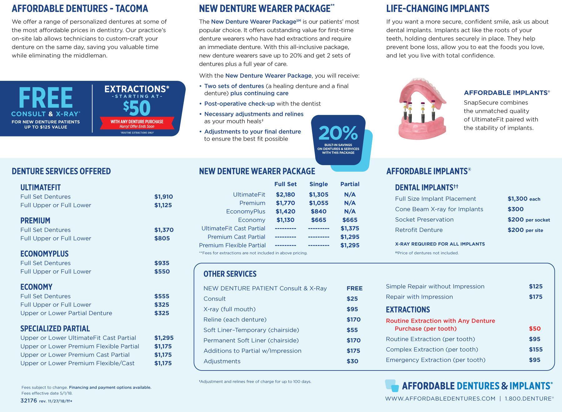 denture care center tacoma wa dentist 98409 affordable dentures. Black Bedroom Furniture Sets. Home Design Ideas