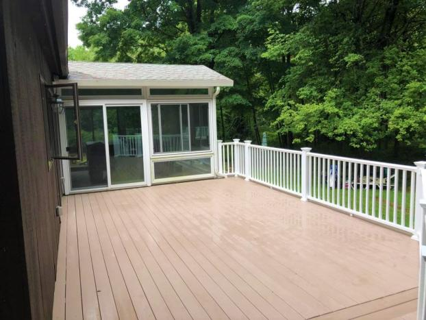 Deck in East Haddam CT