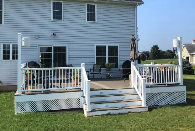 Deck in Broad Brook CT