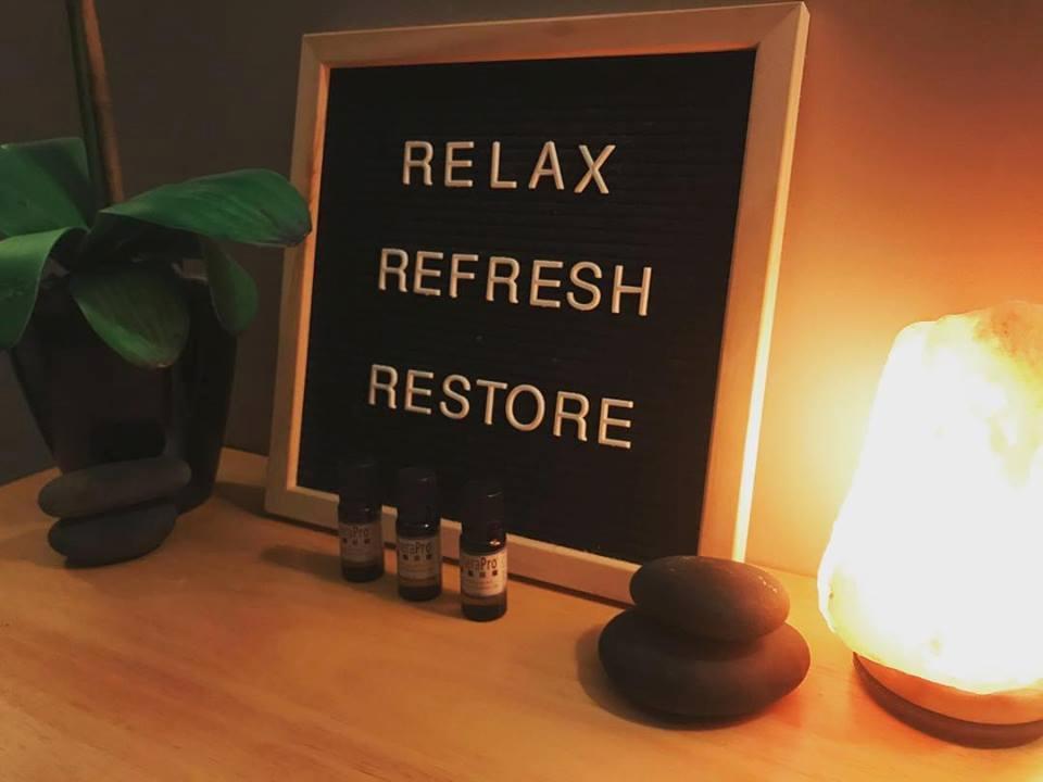 Relax, Refresh, Restore