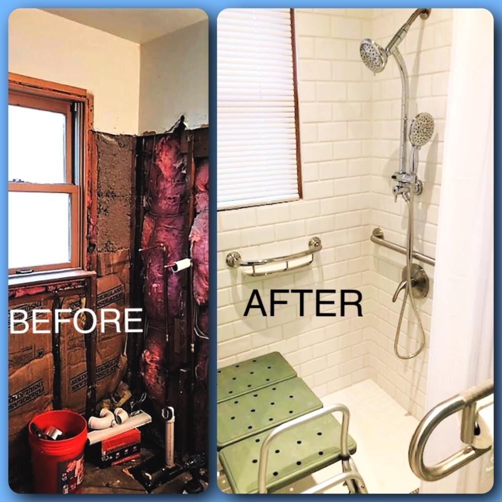 Bathroom Remodel & Rail Installation