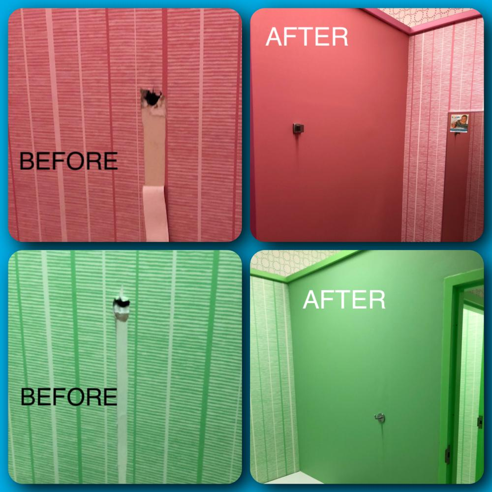 Commercial Fitting Room Renovation