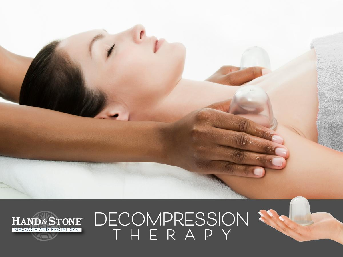 Decompression Therapy - Hand & Stone Massage and Facial Spa - Kirkland, WA