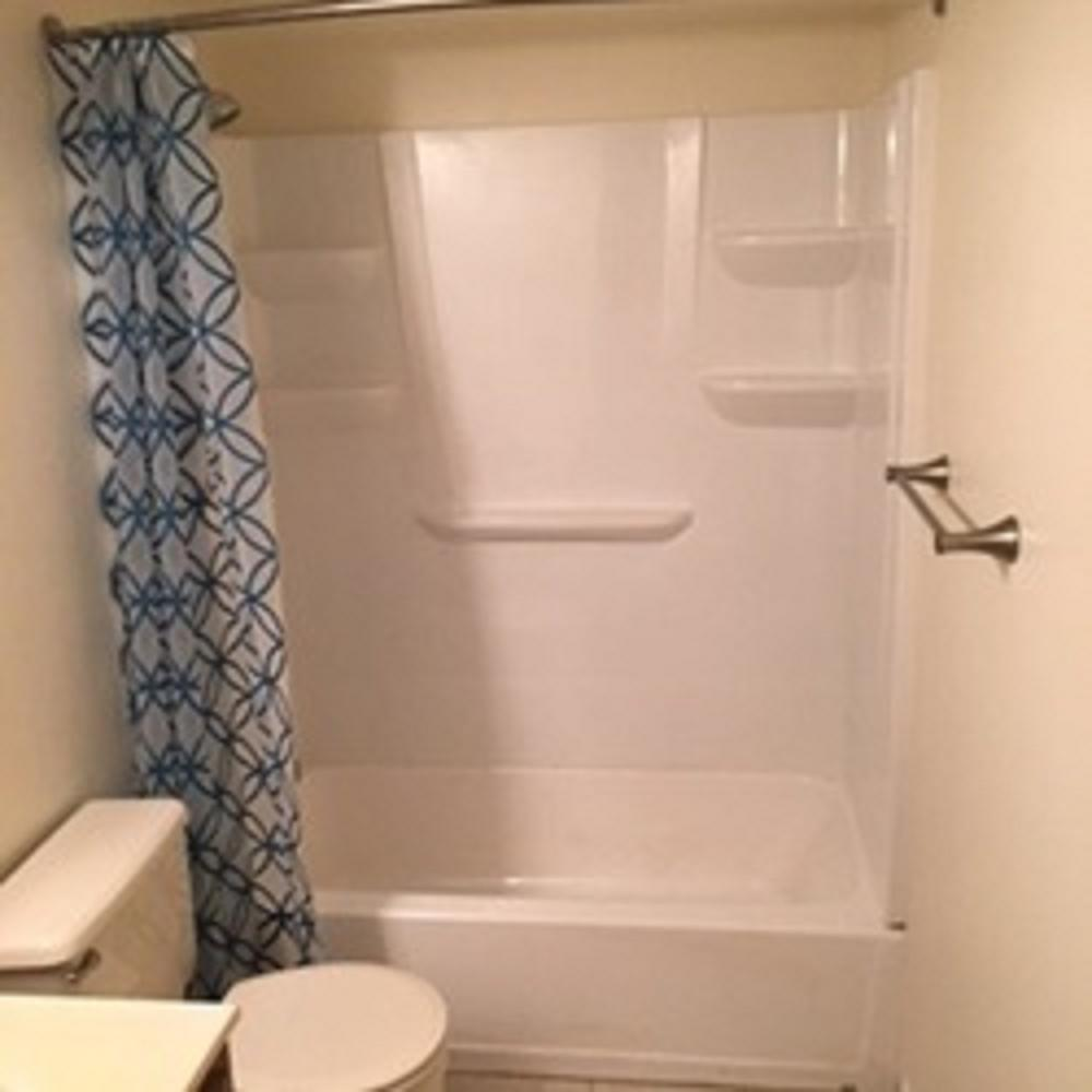 Damaged Tub And Surround Replacement ~ Towson, MD