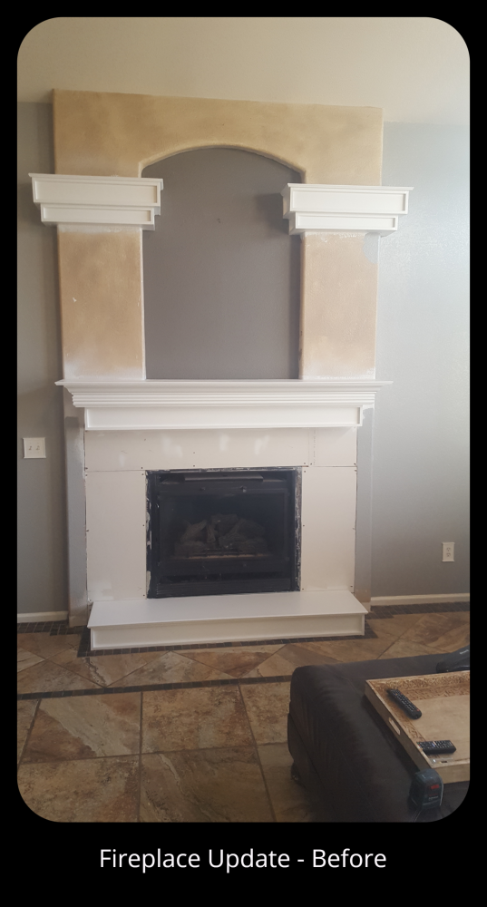 Fireplace Face Lift in Denver, CO
