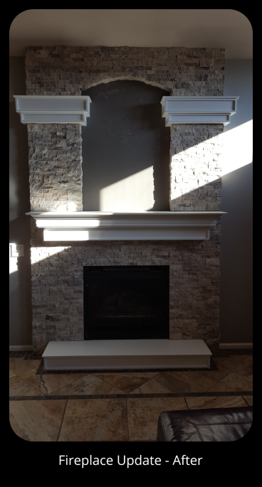 Fireplace Update in Denver, CO