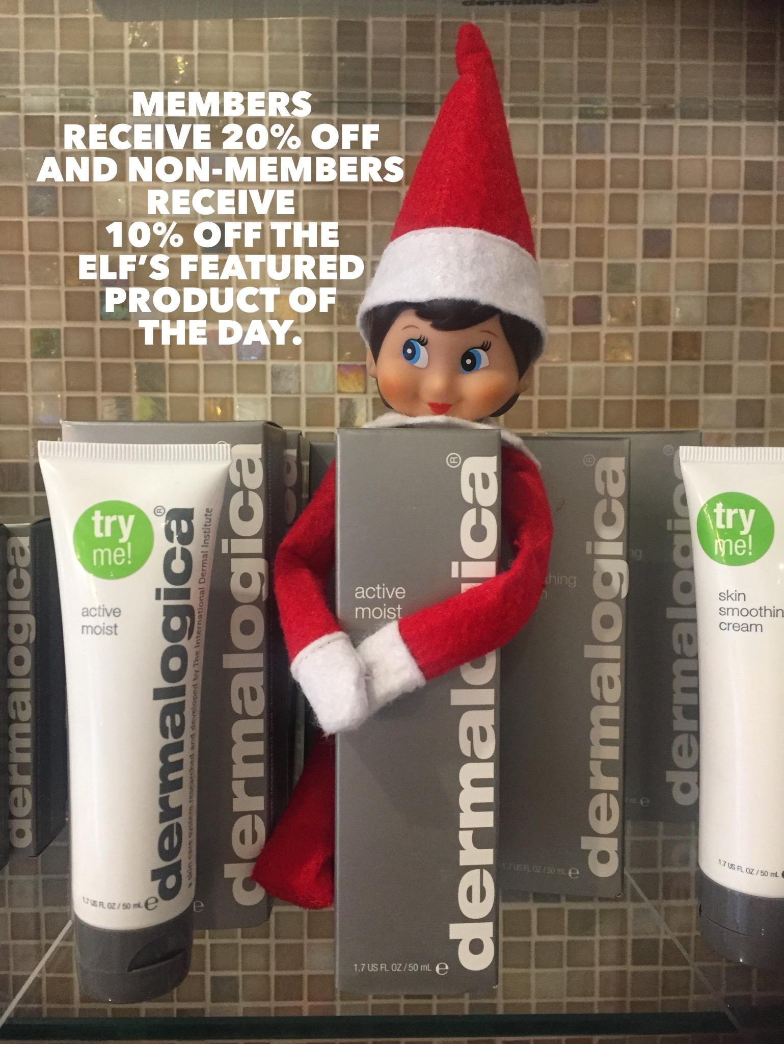 Our Spa Elf is on the MOVE!
