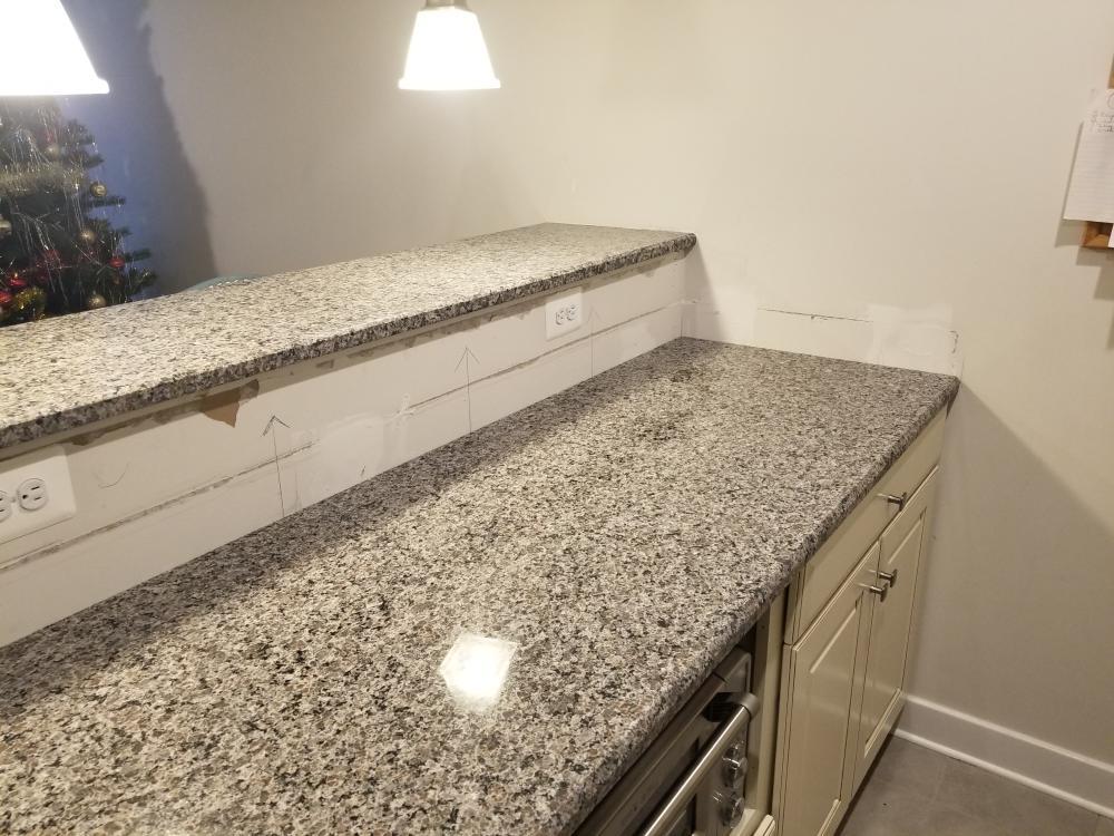 Before-Kitchen Backsplash-Middletown, Maryland