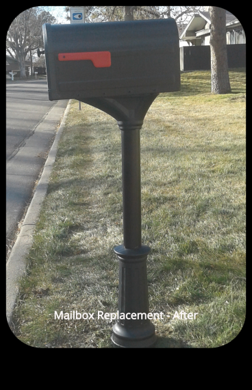 New Mailbox Installation - Lakewood