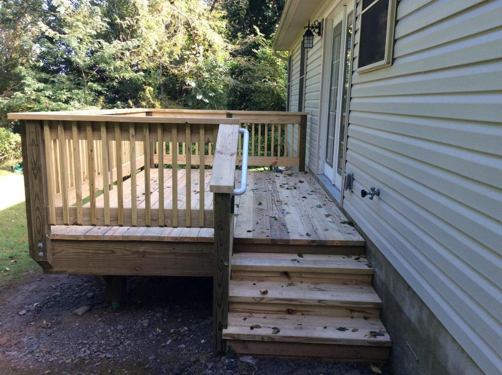 Deck Project in Larksville