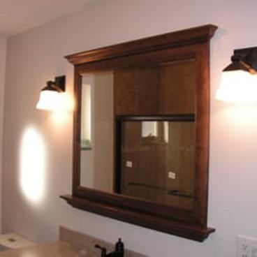 Bathroom accessories and lighting updated in the Upper St Clair, PA area