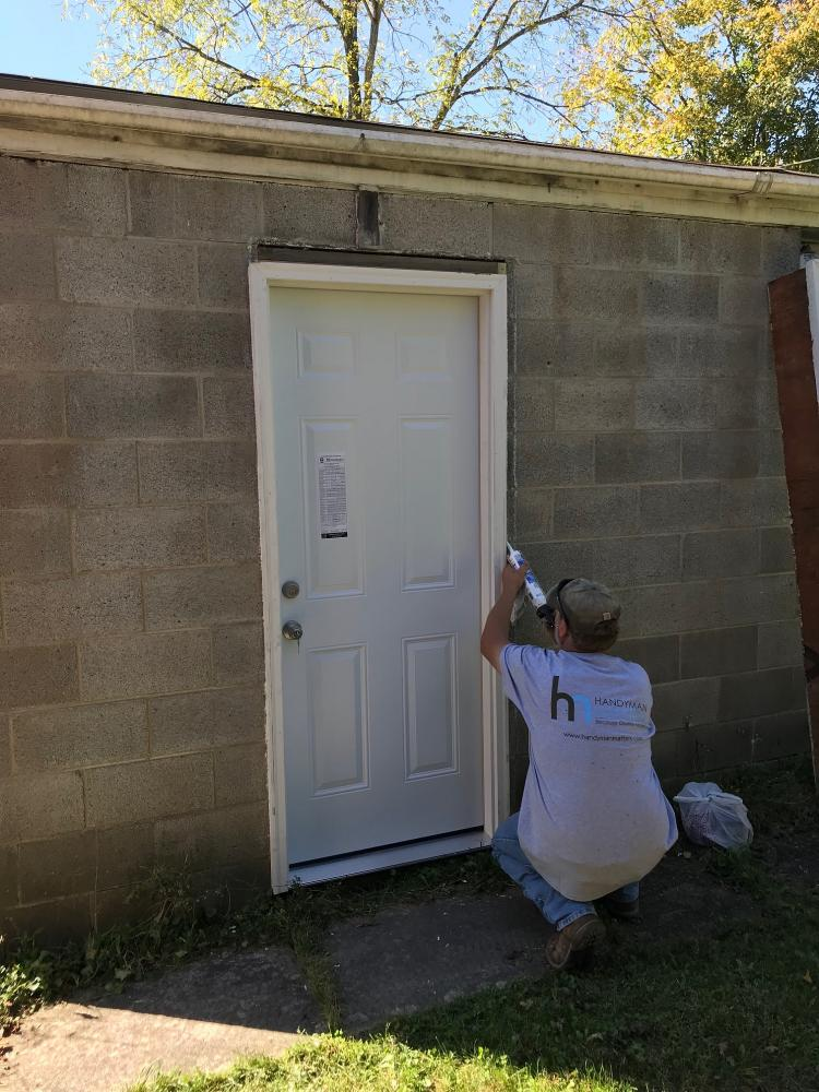 Exterior door removal and replacement