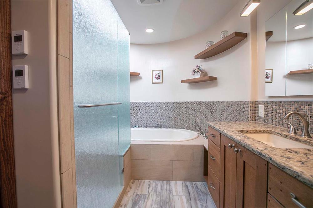 Master Bathroom Remodel Afer 1