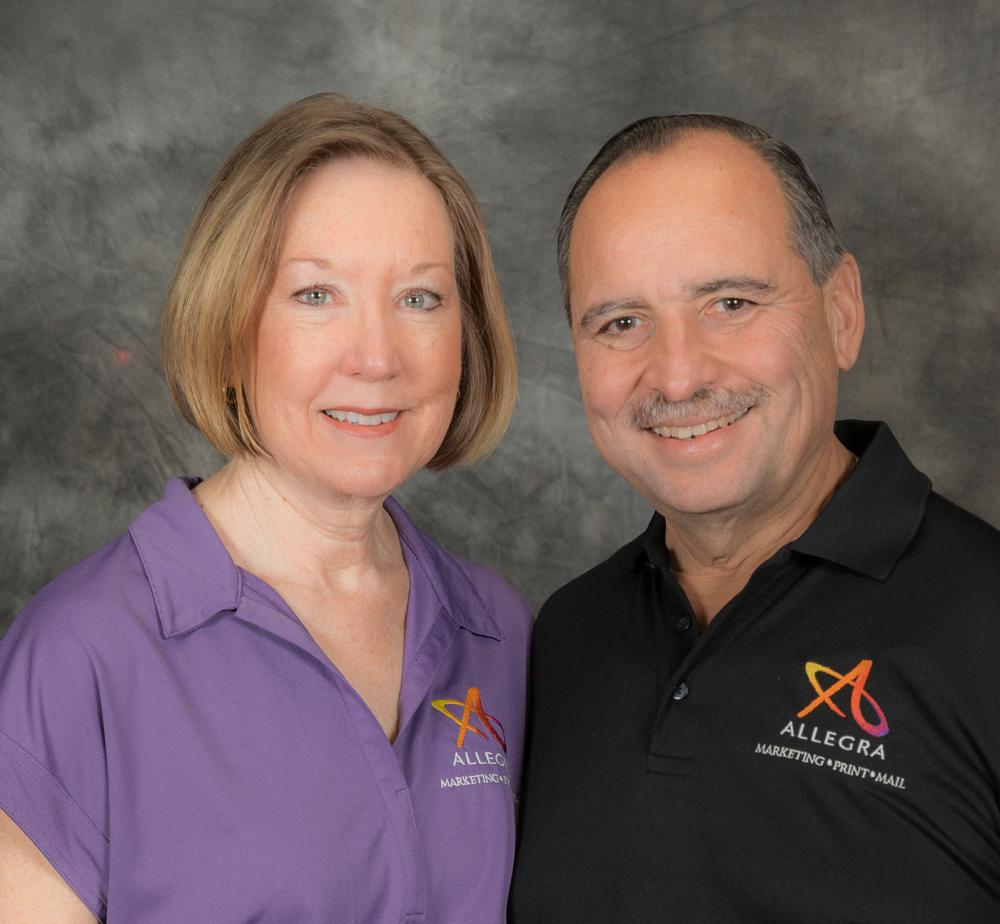 Paula and Eugene Montanez - Allegra Marketing Print Mail Corona, CA