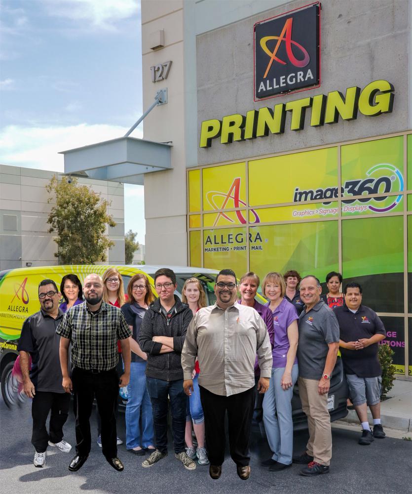 Allegra Marketing Print Mail - Image360 Corona Staff