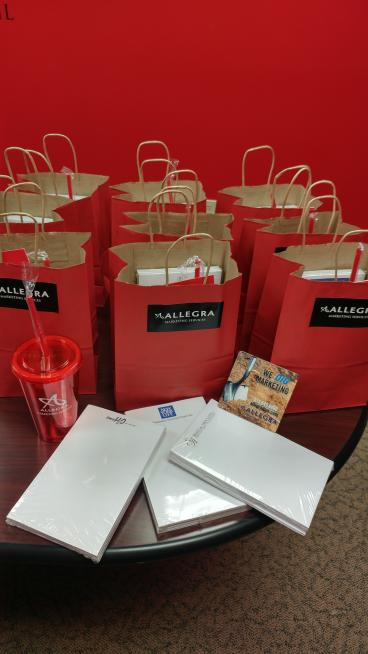 Allegra Swag Bags