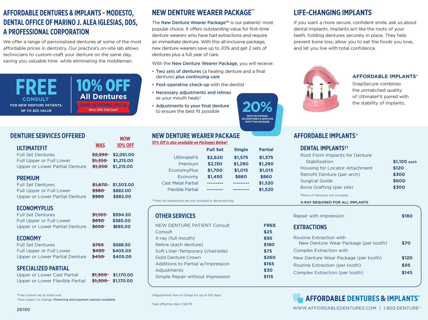 denture care center affordable dentures implants modesto ca 95350. Black Bedroom Furniture Sets. Home Design Ideas