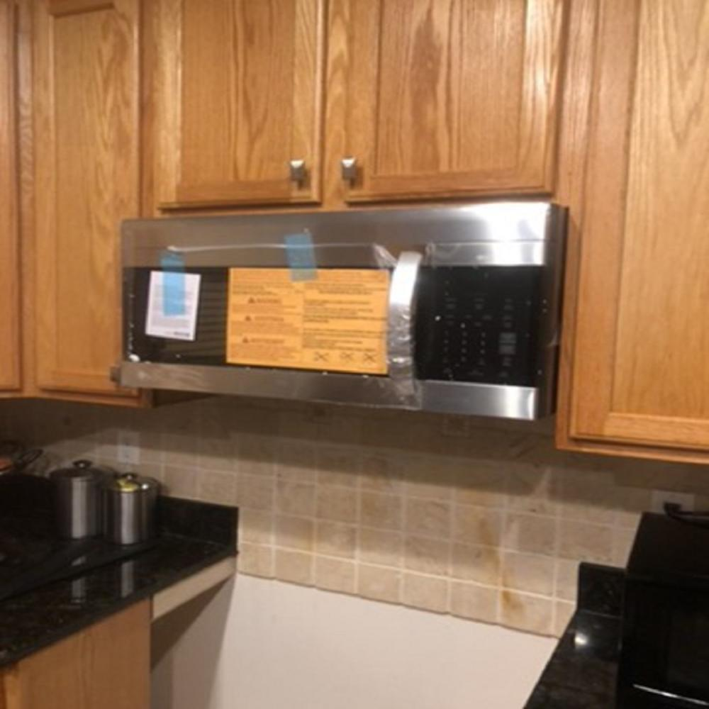 Microwave Installation ~ Towson, MD.