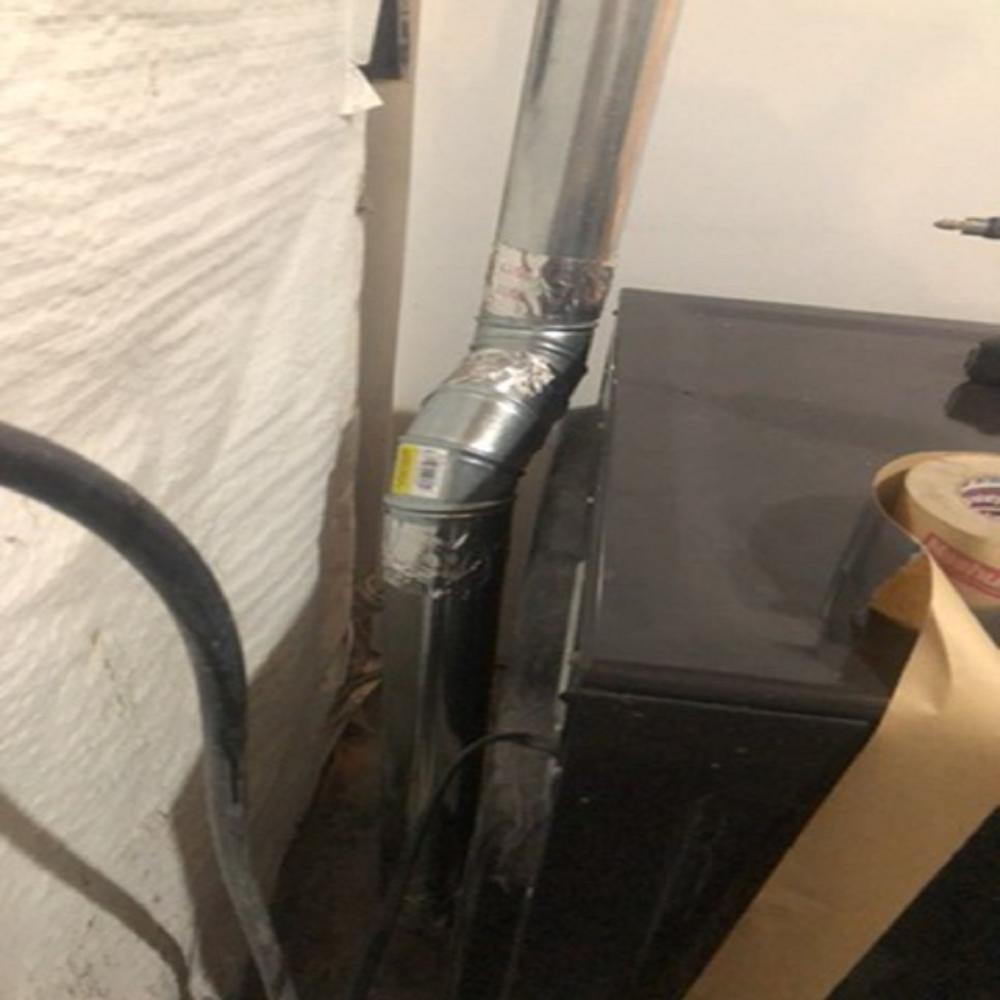 Dryer Vent Installation ~ Clarkesville, MD
