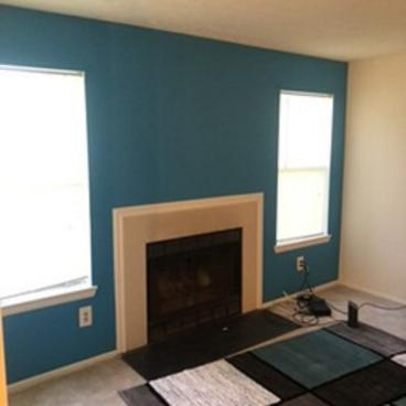 Accent Wall Painted ~ Laurel, MD