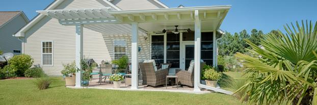 Pergola, Patio Cover & 4 Track Vinyl Room