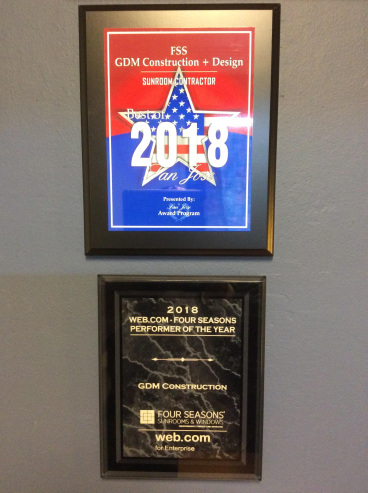 Recent awards afforded to GDM Construction