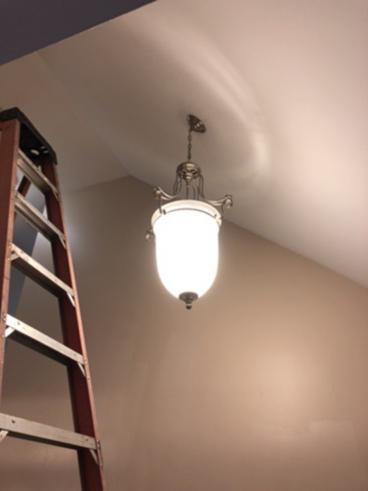 Light Fixture Replacement ~ Ellicott City, MD
