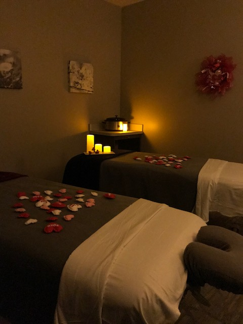 Our Couples room is all set for Valentine's Day!