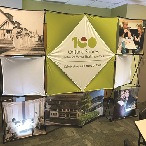 Ontario Shores Window Graphics