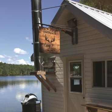 Camp 7 Sign