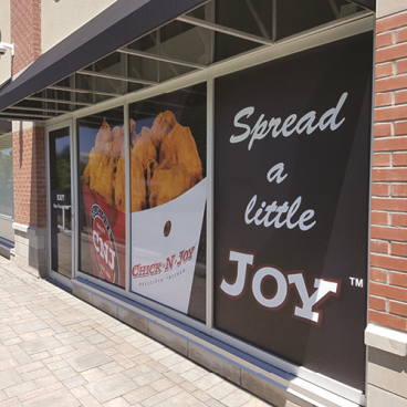 Chicken Joy Window Graphics