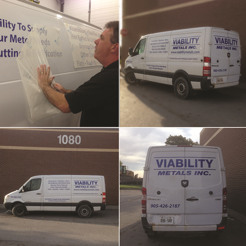 Viability Metals Vehicle Graphics