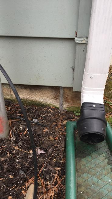 Downspout Extension Repair ~ Columbia, MD