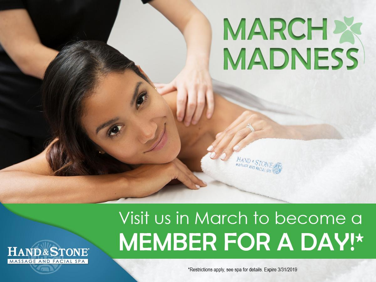 Special March Madness Promotion for You!