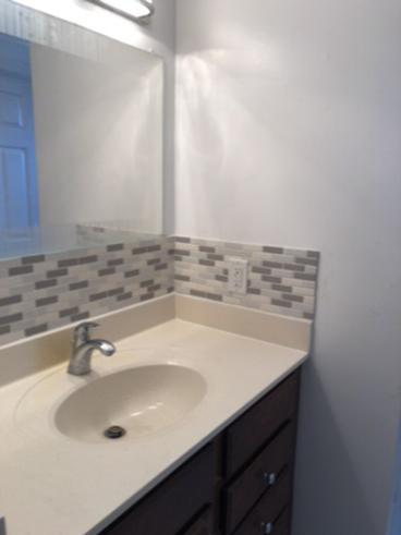 Bathroom Back Splash ~ Ellicott City, MD