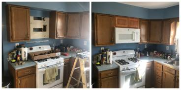 Cabinet Modification ~ Owings Mills, MD