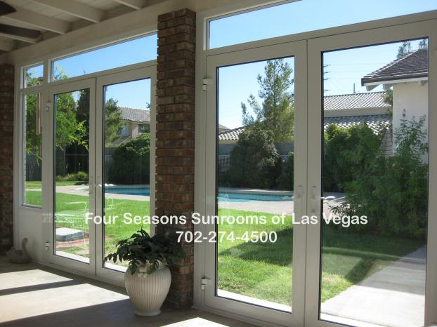 Patio Enclosure with French Doors ( Interior View ) - Spring Valley, Nevada
